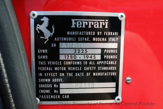 1974 Ferrari DINO  - 16218277 - 26