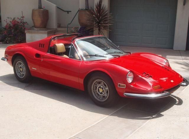 1974 Used Ferrari Dino 246 Gts Spider At Sports Car