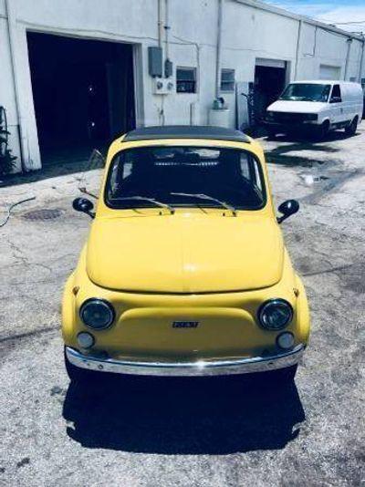 1974 FIAT 500  Convertible