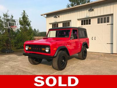 1974 ford bronco 302 v8 power steering previous cosmetic restoration suv for sale in. Black Bedroom Furniture Sets. Home Design Ideas