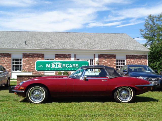 1974 Jaguar E-TYPE HUGE PRICE REDUCTION ON THIS GORGEOUS E-TYPE ROADSTER - Click to see full-size photo viewer