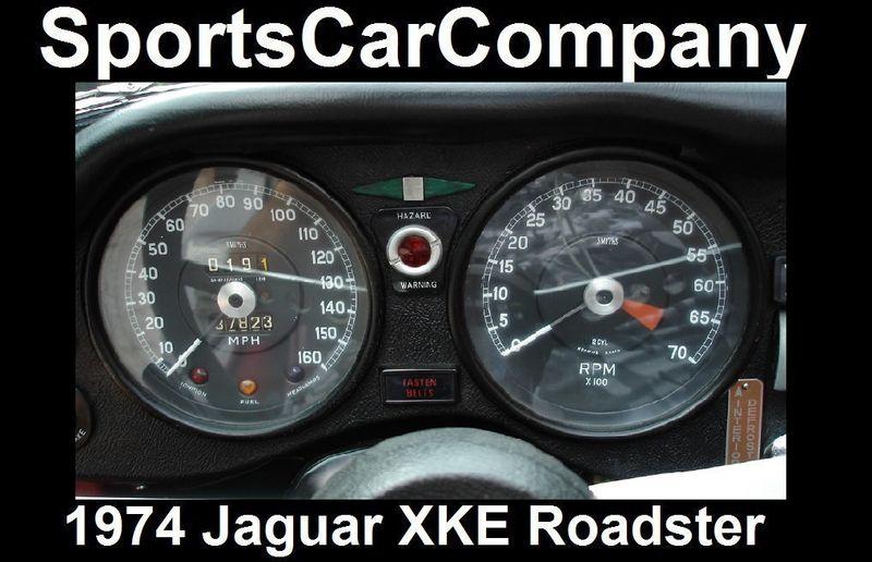 1974 Jaguar XKE ROADSTER  - 16454272 - 16