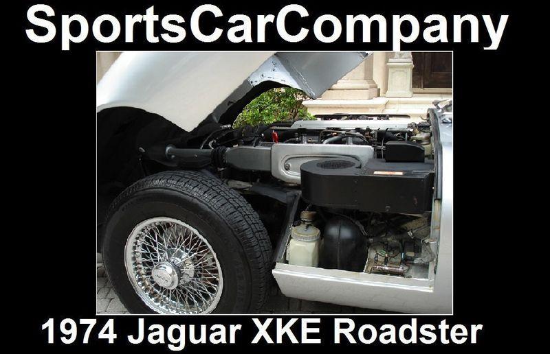 1974 Jaguar XKE ROADSTER  - 16454272 - 17