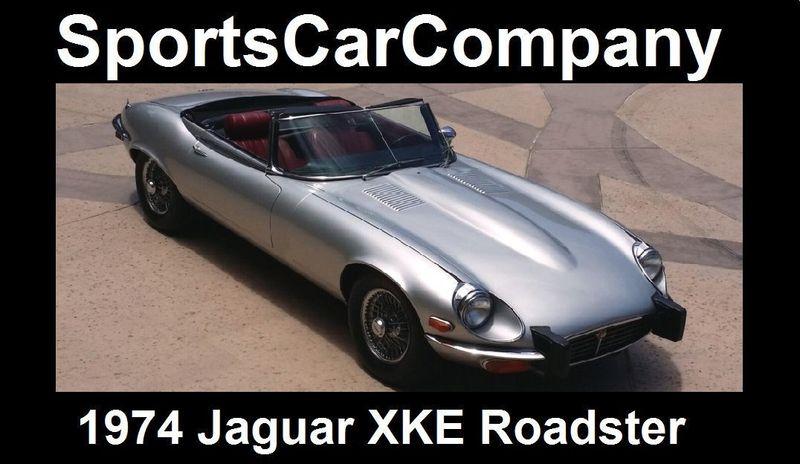 1974 Jaguar XKE ROADSTER   16454272   58