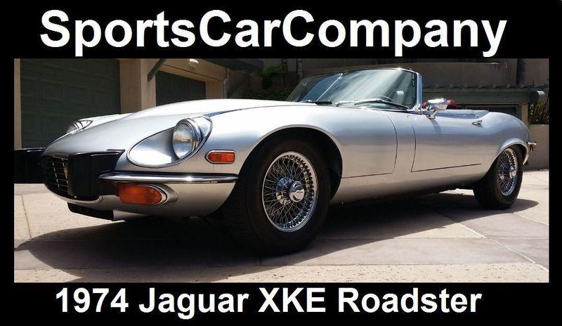 1974 Jaguar XKE ROADSTER   16454272   5