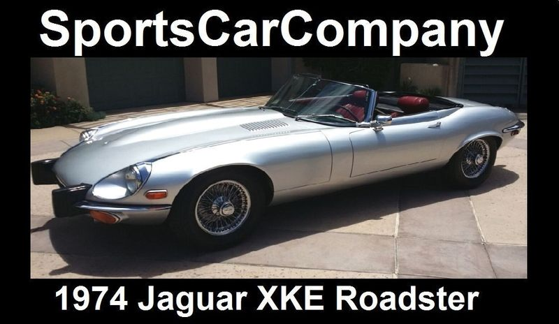1974 Jaguar XKE ROADSTER   16454272   60