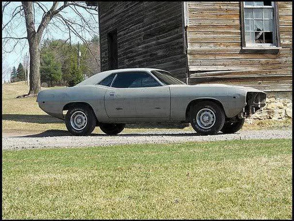 1974 Plymouth Cuda Tooling Proof - 13038764 - 0