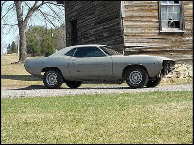 1974 Plymouth Cuda Tooling Proof Coupe