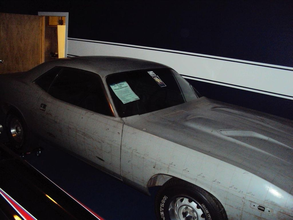 1974 Plymouth Cuda Tooling Proof - 13038764 - 9