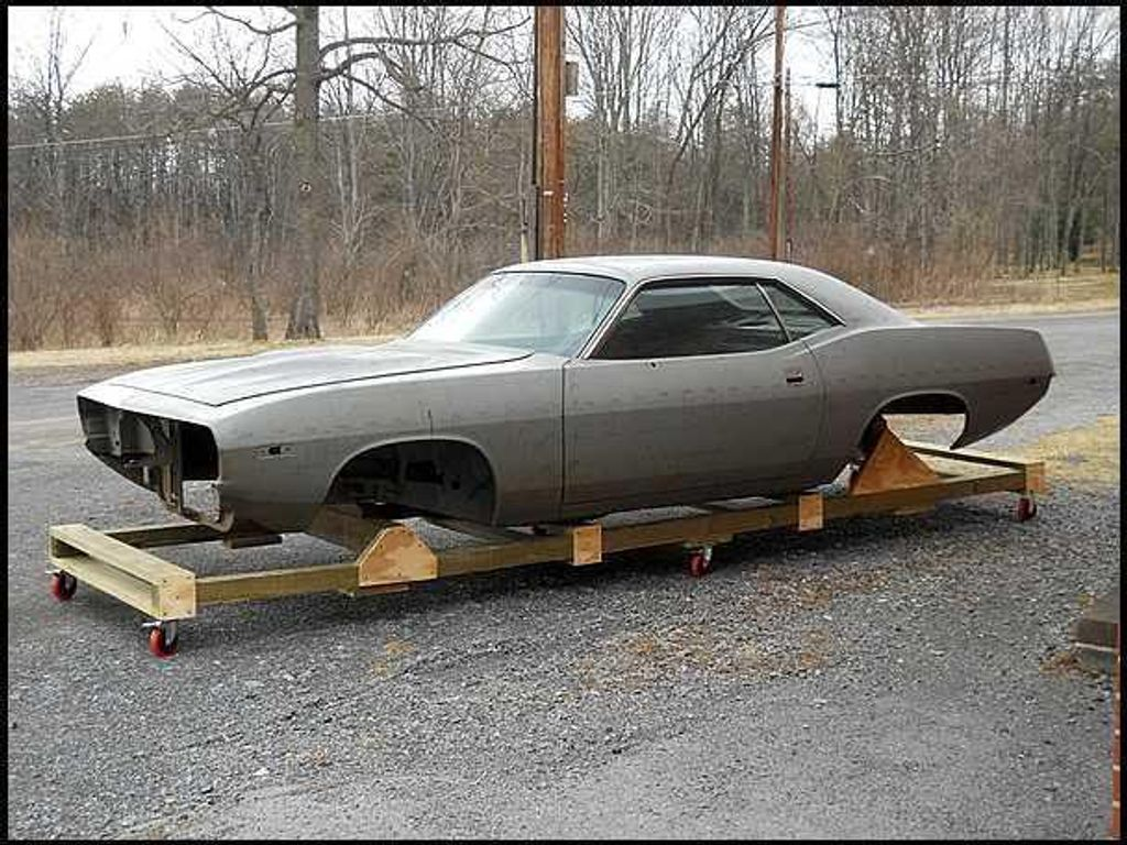1974 Plymouth Cuda Tooling Proof - 13038764 - 2