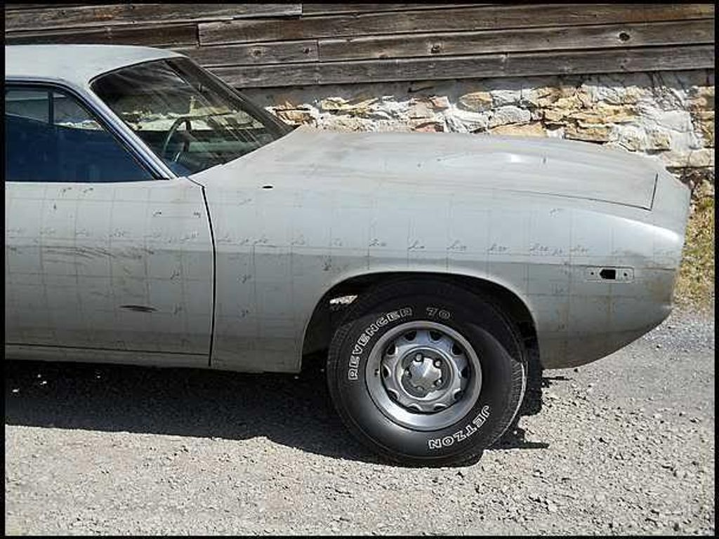 1974 Plymouth Cuda Tooling Proof - 13038764 - 4