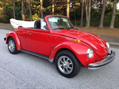 1974 Volkswagen Beetle Convertible SOLD
