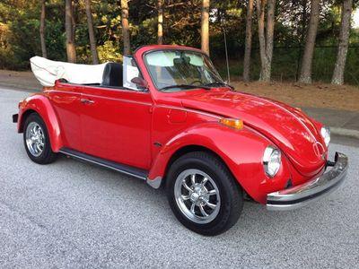 1974 Volkswagen Beetle Convertible Super Beetle Convertible