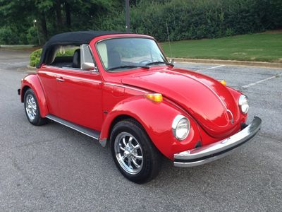 1974 Volkswagen Beetle Convertible Super Beetle Convertible - Click to see full-size photo viewer
