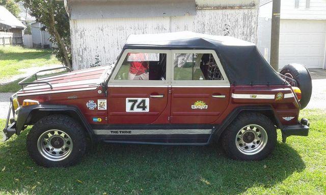 Volkswagen Thing For Sale >> 1974 Volkswagen Thing For Sale Convertible For Sale Riverhead Ny 19 995 Motorcar Com