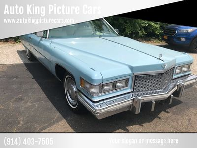 1975 Cadillac DeVille Coupe - Click to see full-size photo viewer