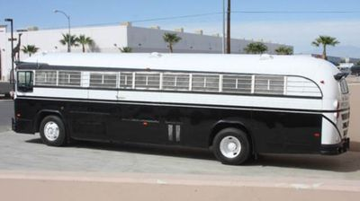1975 Crown Prison Bus Prison bus  - Click to see full-size photo viewer