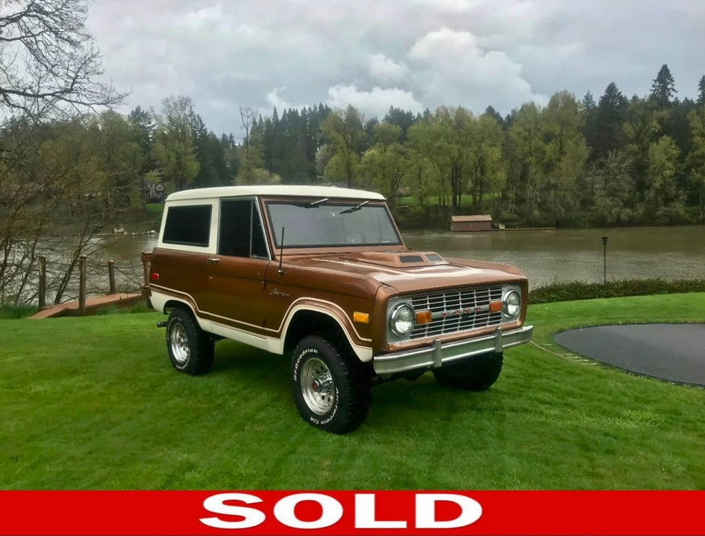 1975 Ford Bronco  - 17420722 - 0