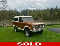 1975 Ford Bronco - U15GLV41666