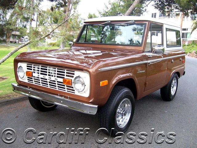 1975 Used Ford Bronco 4X4 At Cardiff Classics Serving Encinitas