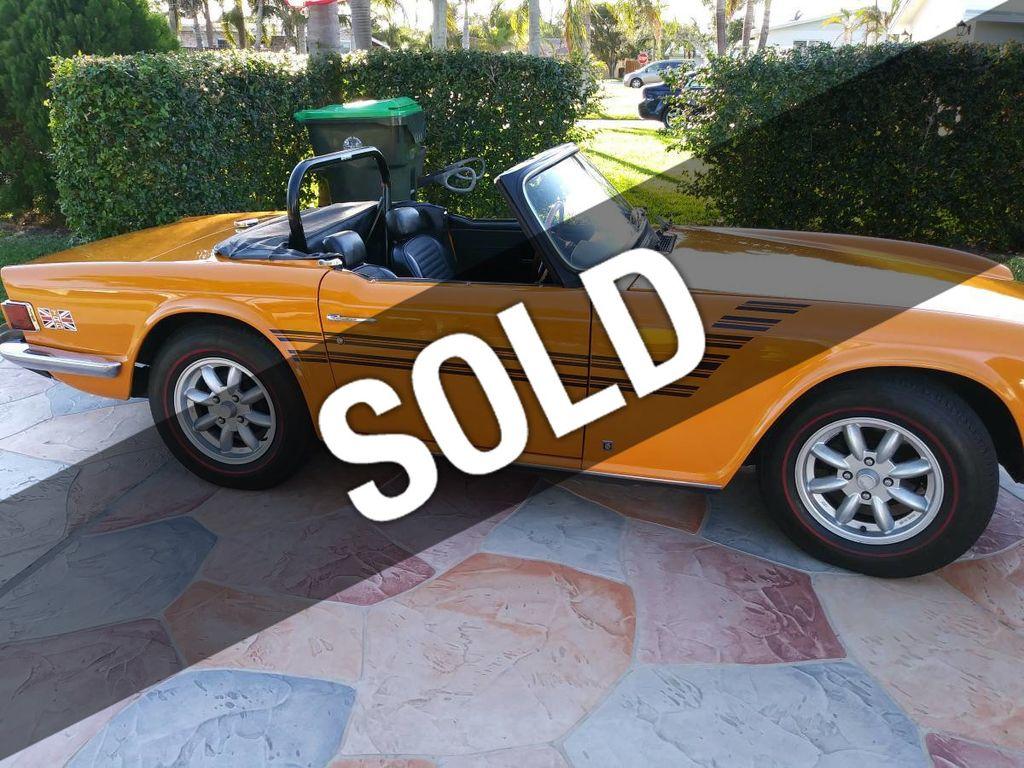 1975 Triumph TR6 Convertible For Sale - 17373547 - 0