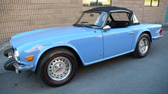 1975 Used Triumph TR6 RESTORED at Find Great Cars Serving