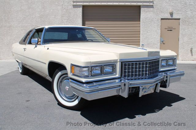 Cadillac Las Vegas >> 1976 Used Cadillac Coupe Deville 2 Door At Classic Collectible Cars Serving Las Vegas Nv Iid 19144032
