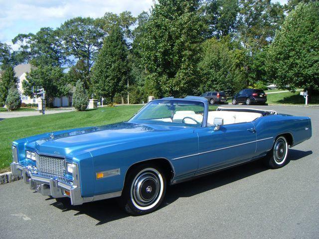 1976 Cadillac Eldorado Stunning Convertible For Sale Ramsey Nj