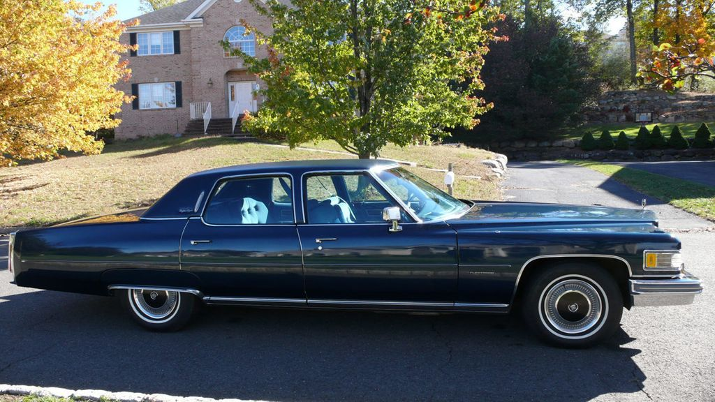 1976 Used Cadillac FLEETWOOD BROUGHAM D'ELEGANCE at Find Great Cars