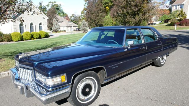 1976 Cadillac FLEETWOOD BROUGHAM D'ELEGANCE Sedan for Sale Ramsey