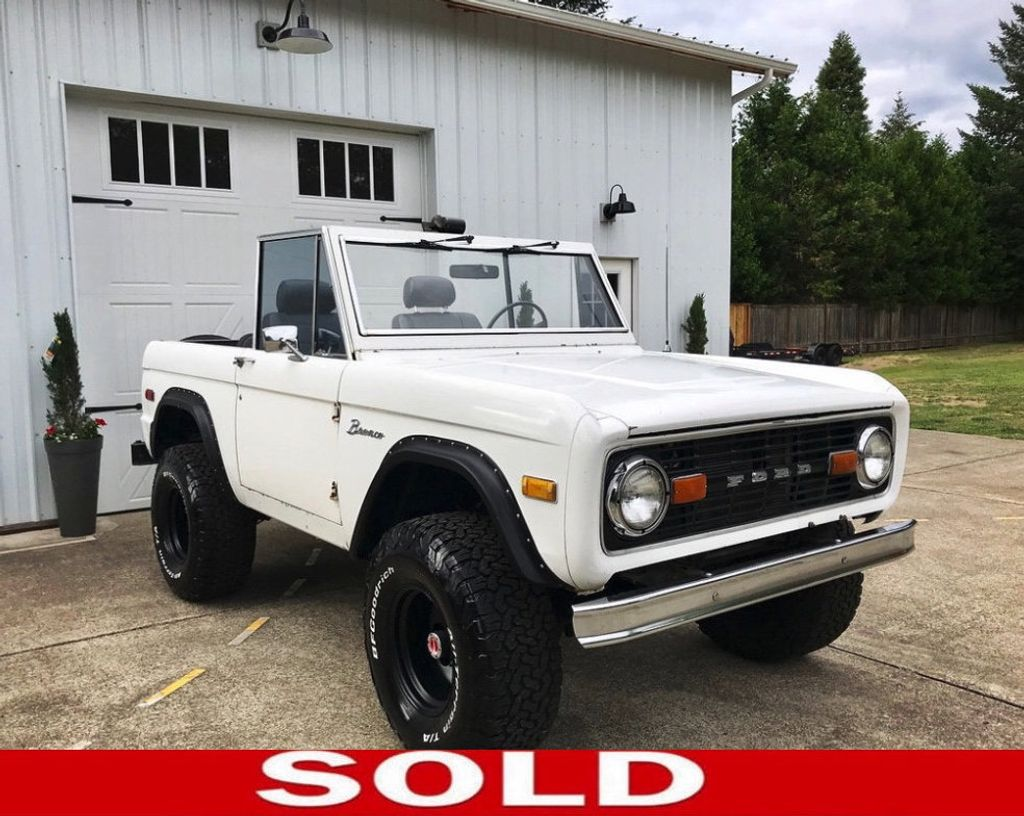1976 Ford Bronco 5 Speed Overdrive Trans, with a 351W!  - 17749479 - 0