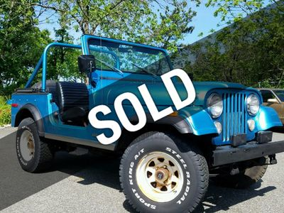 1976 Jeep CJ-7 Quadra-Trac