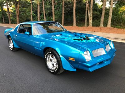 1976 Pontiac Trans Am Trans Am 455 HO Coupe
