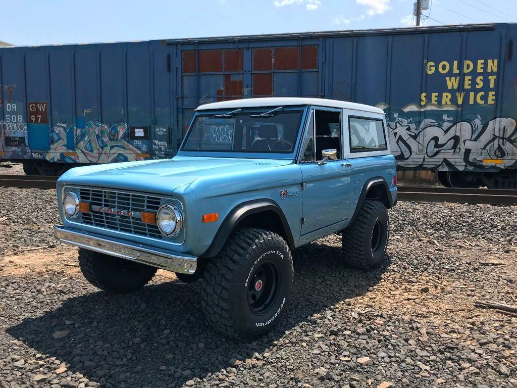1977 Ford Bronco Rebuilt 302, PS & Power Disc Brakes!  - 16803400 - 1