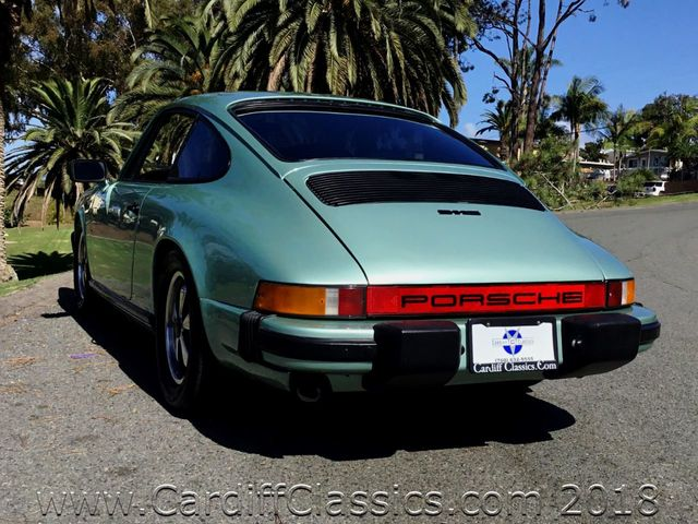 1977 Porsche 911S  - Click to see full-size photo viewer