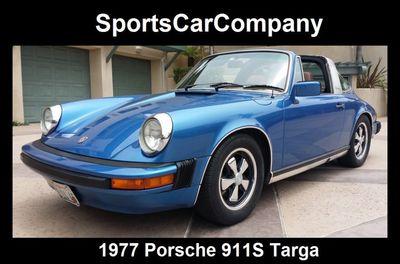 1977 Porsche 911S Targa