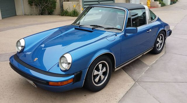 1977 porsche 911s targa porsche 911s targa convertible for sale in la jolla ca on. Black Bedroom Furniture Sets. Home Design Ideas