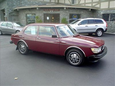 1977 Saab 99 Turbo Test Car Sedan