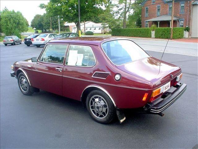 1977 Saab 99 Turbo Test Car Sedan