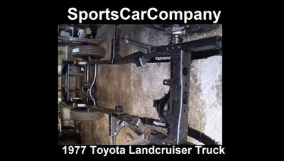 1977 Toyota LandCruiser Truck  - Click to see full-size photo viewer
