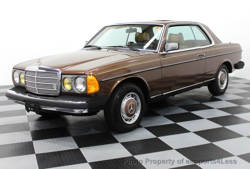 1978 used mercedes benz 300cd diesel coupe at for Used mercedes benz coupe