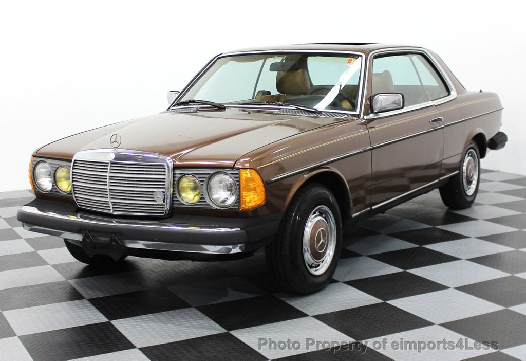 1978 used mercedes benz 300cd diesel coupe at