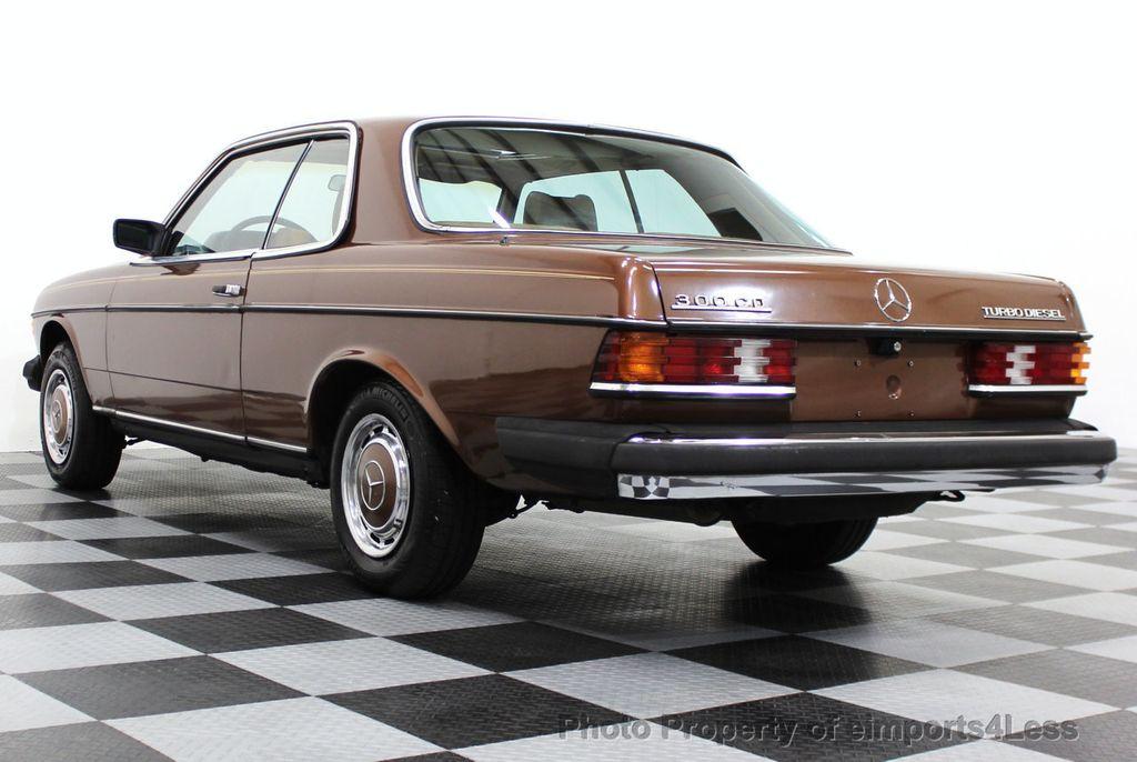 1978 used mercedes benz 300cd diesel coupe at for Mercedes benz diesel models