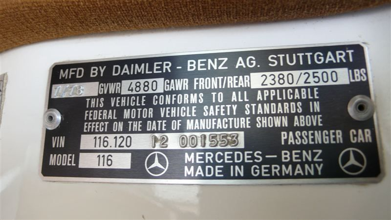 1978 Mercedes-Benz 300SD ALL ORIGINAL - 7826686 - 68