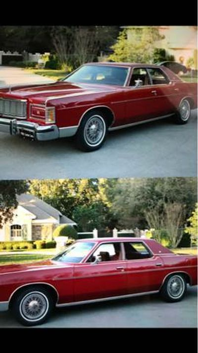 1978 Mercury Grand Marquis  - Click to see full-size photo viewer