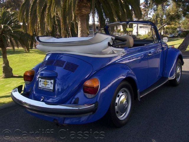 1978 Used Volkswagen Super Beetle Convertible at Cardiff ...