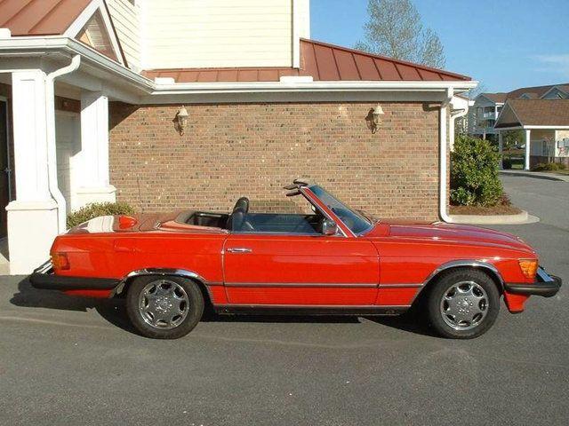 1979 mercedes 450sl convertible