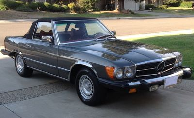 1979 Mercedes-Benz SL