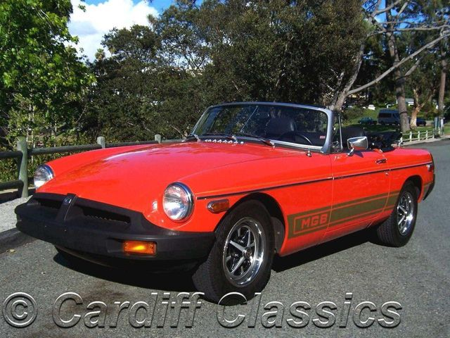 1979 MG B Roadster Convertible