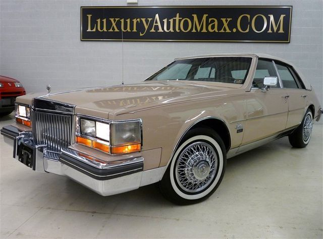 1980 Used Cadillac SEVILLE FUEL INJECTED V8 at Luxury AutoMax ...